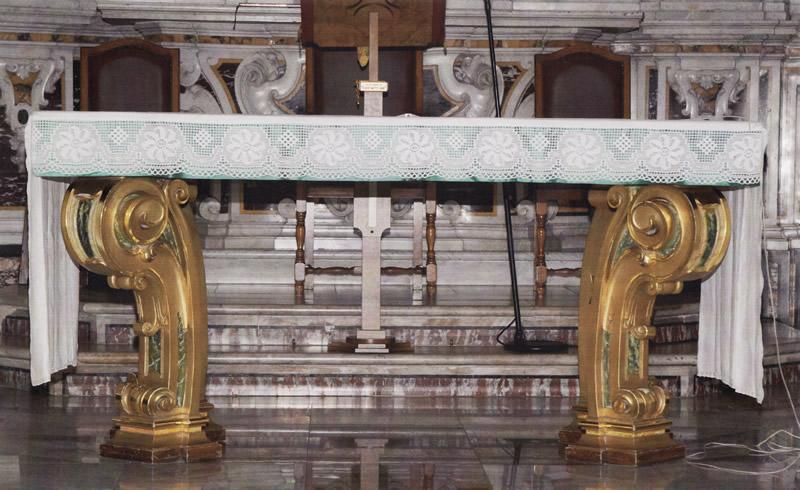 Altare cattedrale Ascoli Satriano